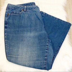 Michael Kors Plus Size Antique Wash Jeans Size 16W